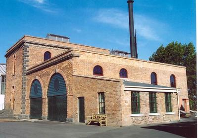 The Western Springs Pumphouse and Boiler House 1877