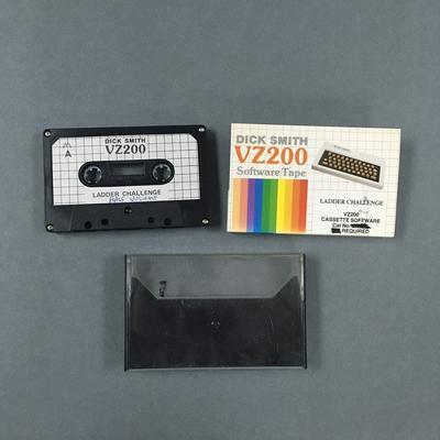 Data Cassette Tape [LADDER CHALLENGE]
