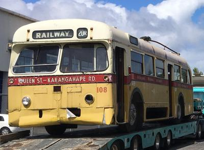 Trolleybus [No.108 (Park Royal)]