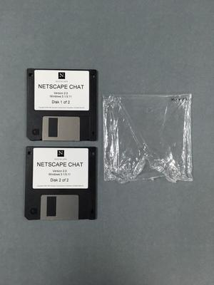 Two Floppy Disks [Netscape Chat]