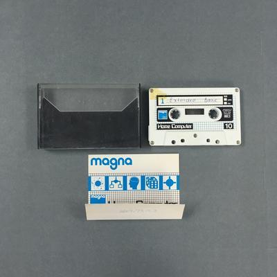 Data Cassette Tape [(1) Extended Basic / (2) RUN 6500 Conversion Program]