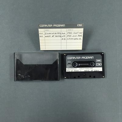Data Cassette Tape [ISLAND OF SECRETS / MAZE OF DOOM 2 / FBI-2001 - SCOTLAND YARD 2]