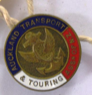 Badge [Auckland Transport and Touring badge]