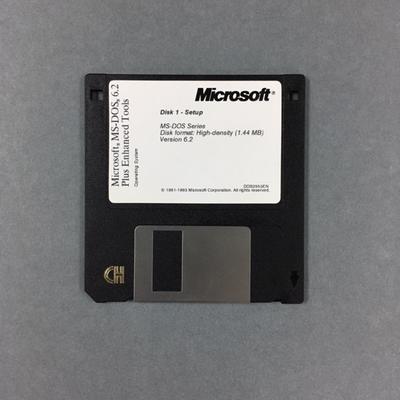 Floppy Disk [MS-DOS Disk 1]