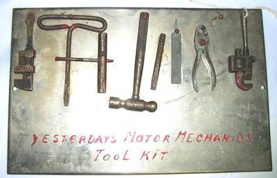 Tool kit display board