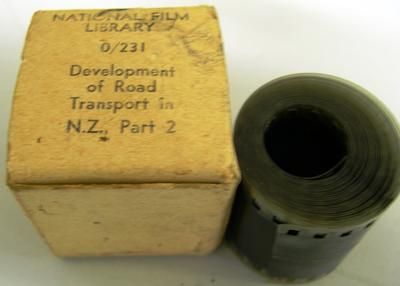 Movie Film [Development of Road Transport in New Zealand Part 2]