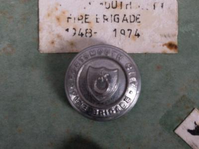 Button [Portsmouth City Fire Brigade (1948-1974)]