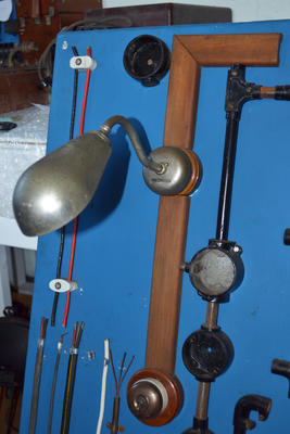 Lamp and switch
