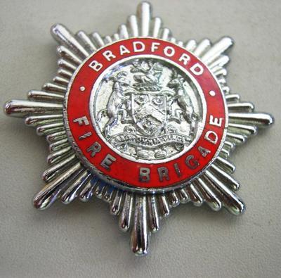 Hat Badge [Bradford Fire Brigade]