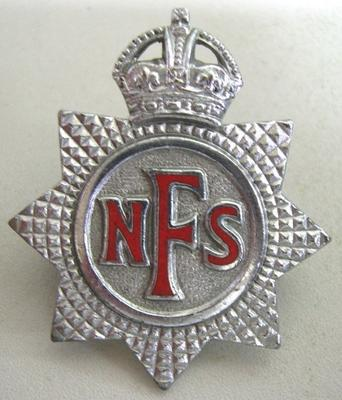 Hat Badge [National Fire Service]