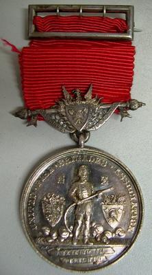 Medal [Eketahuna Volunteer Fire Brigade Long service medal]