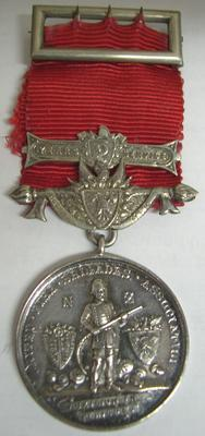 Medal [United Fire Brigades Association Service medal]