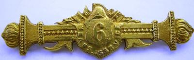 Medal [Gold Bar 6 Years Service]