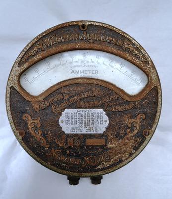 Ammeter [Weston]