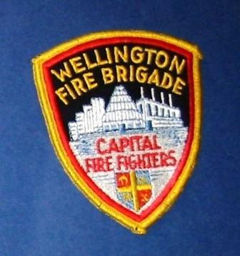 Patch [Wellington Fire Brigade Capital Fire Fighters]