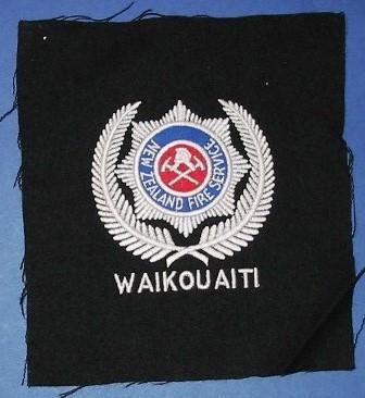 Blazer Monogram [New Zealand Fire Service Waikouaiti]