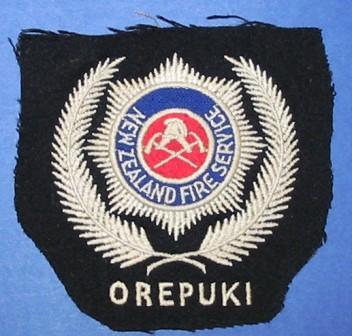Blazer monogram [New Zealand Fire Service Orepuki]