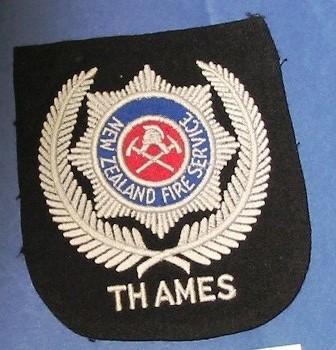 Blazer Monogram [New Zealand Fire Service Thames]