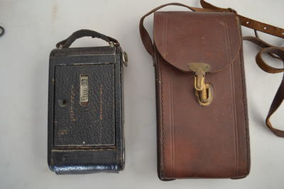 Camera [Kodak Junior] and Case