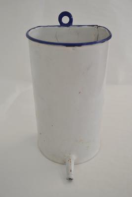 Enamel container