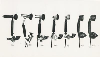 Telephone handsets : 1884 - 1947