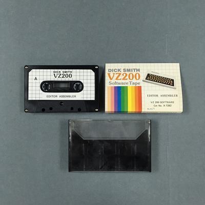 Data Cassette Tape [EDITOR ASSEMBLER]