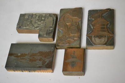 Printing plates / blocks