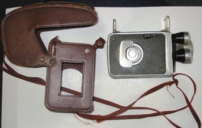 Movie Camera and Case