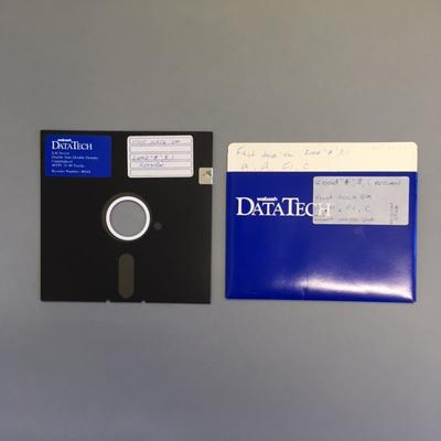 """Floppy Disk [Game for Commodore 64: """"Fast Hack'em""""]"""