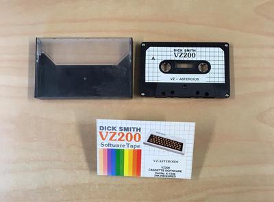 Data Cassette Tape [VZ-ASTEROIDS]