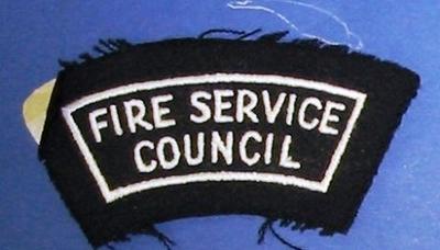 Shoulder Patch [Fire Service Council]