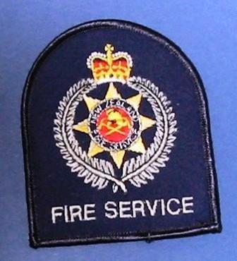 Shoulder badge [Fire Service]