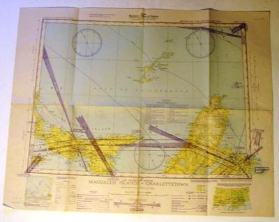 Map - Magdalen Islands-Charlottetown, Canada
