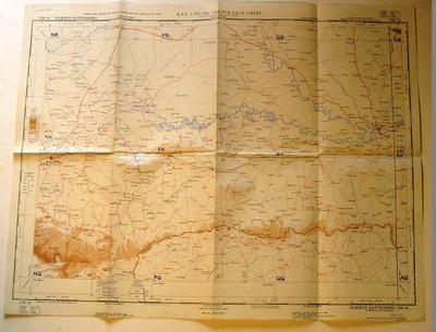 Map - Nakhon Ratchasima, Thailand