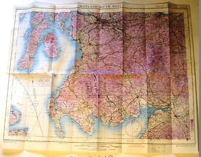 Map - Scotland, South West