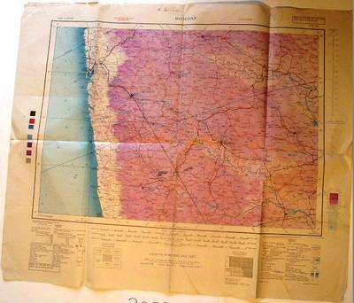 Map - Bombay