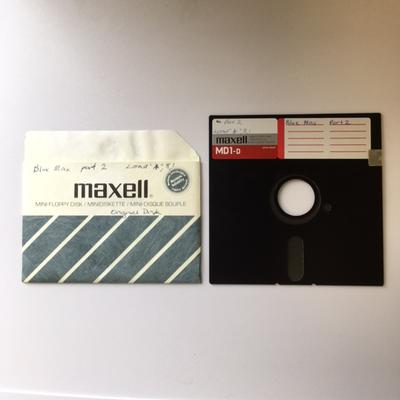 Floppy Disk [Game for Commodore 64: Blue Max]