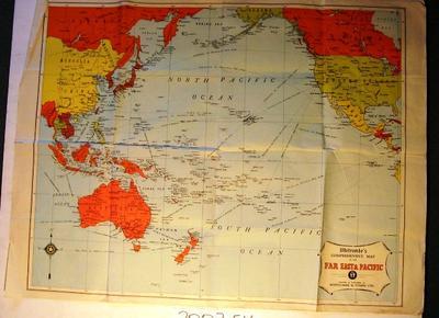 Far Eastern Pacific map
