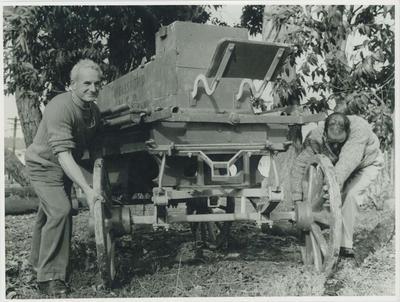 1868 Shand-Mason engine.