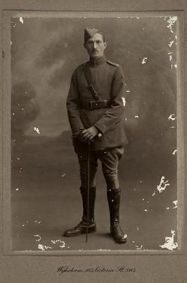 [Studio portrait of Charles Kingsley Mills]