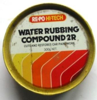 Tin - Water Rubbing Compound RE-PO Collection