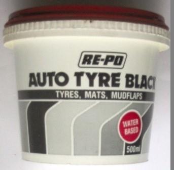 Tub - Auto Tyre Black RE-PO Collection