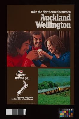Take the Northerner between Auckland and Wellington