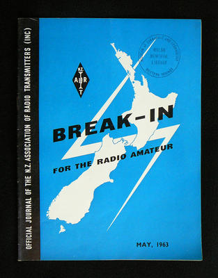 Break-in: the official journal of the New Zealand association of radio transmitters