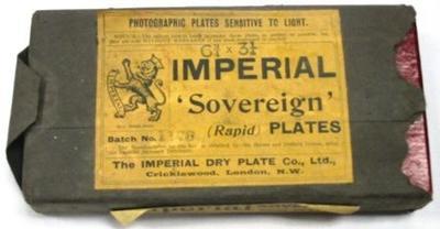 Photographic Plates (unopened)