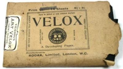 Paper - Velox Photographic; Kodak Limited