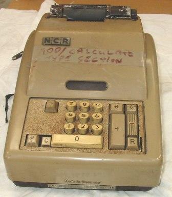 Machine - Adding (Type KI10)