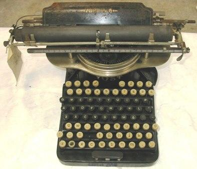 Typewriter [Yost, No. 6]
