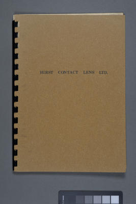 Hirst Contact Lens Ltd.; Hirst Contact Lens Limited; 1977