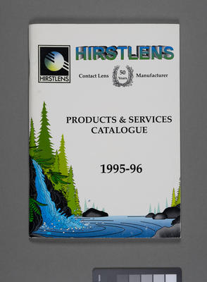 HirstLens products and services catalogue 1995-96
